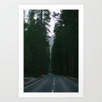 yosemite Art Prints featuring Yosemite  by Andre Elliott
