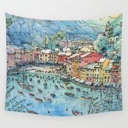 Portofino, Italy Wall Tapestry