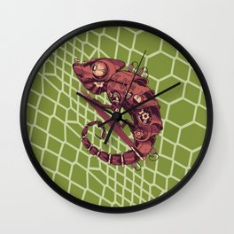 I Have A Dragon Living In My House Wall Clock