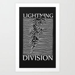 Lightning Division Art Print