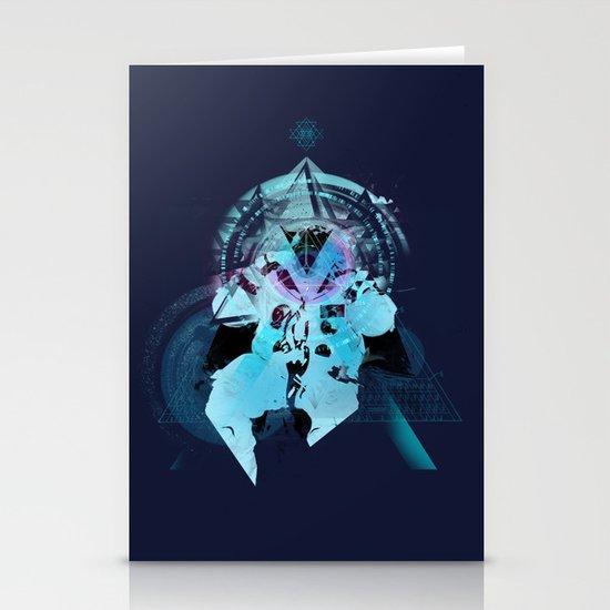 Illuminati Astronaut Stationery Cards
