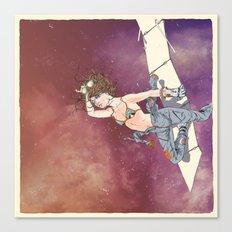 Bodies in Space: Sunburn Canvas Print