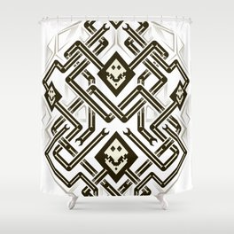 Playing Cards - Diamond Shower Curtain