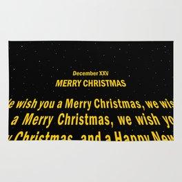 December XXV - Merry Christmas Rug