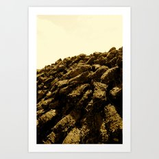 Turf Art Print
