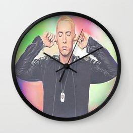 Marshall Bruce Mathers III Wall Clock