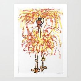 Sally Rand Art Print