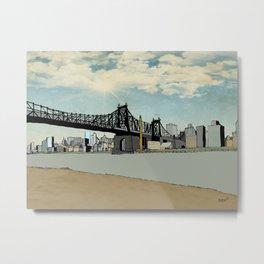Manhattan, New York City Metal Print