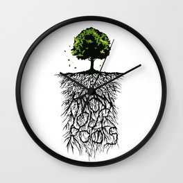 Know your Roots Wall Clock
