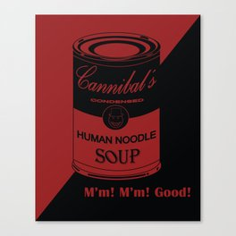 Cannibal's Soup Version 2 Canvas Print