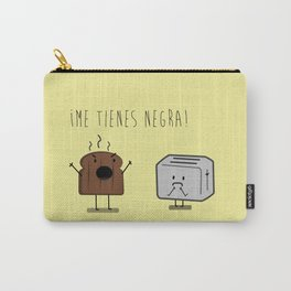 Toast and toaster with text (I'm sick of you) Carry-All Pouch