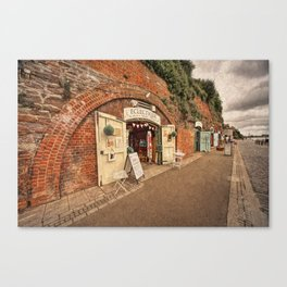 Exeter under the Arches Canvas Print