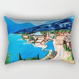 Lake Garda, Italy Rectangular Pillow