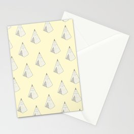 Tents Stationery Cards