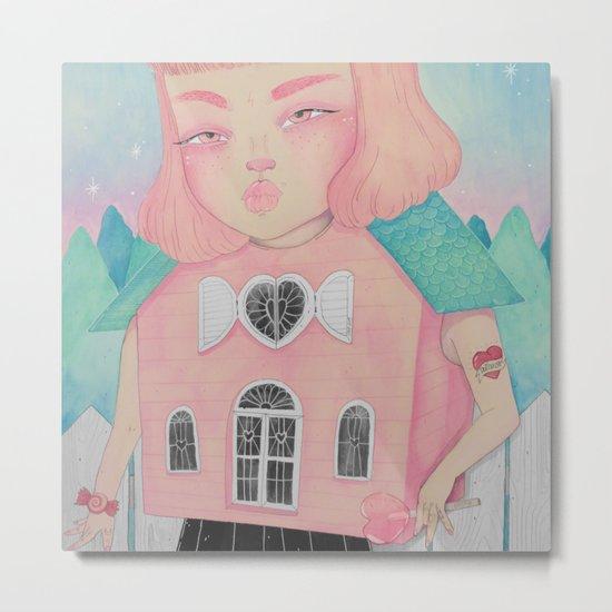 Dollhouse Metal Print
