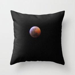 Mars On the Moon  Throw Pillow