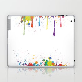Paint Watercolor Splatter Laptop & iPad Skin