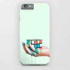 MELTING RUBIKS CUBE Slim Case iPhone 6