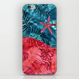 Summer Beach Tropical Pattern iPhone Skin