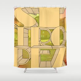 St. Tropez, jetset holidayplace. Shower Curtain