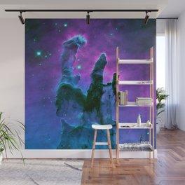 Nebula Purple Blue Pink Wall Mural