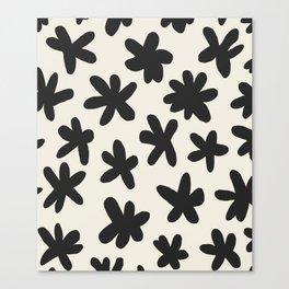 Flower Power Print Canvas Print