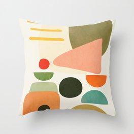 Modern Abstract Art 71 Throw Pillow