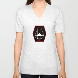 181st Flight Group (Imperial) Unisex V-Neck