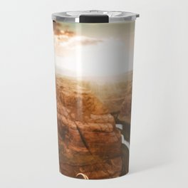 horse shoe bend canyon Travel Mug