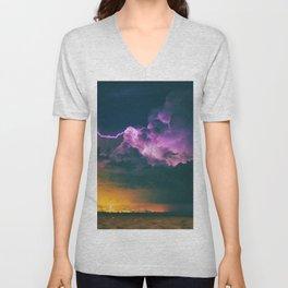 The Storm (Color) Unisex V-Neck