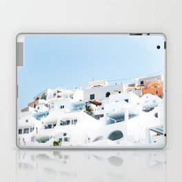 Lost in Santorini Greece Laptop & iPad Skin