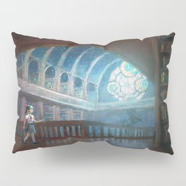 The Library under the Stars Pillow Sham
