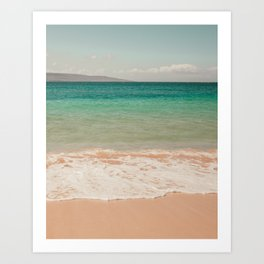 Postcard from Maui Art Print