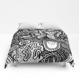 Under the Sea Doodle Comforters