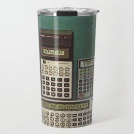 Casio Calculators...the good old days. Travel Mug