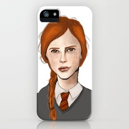"Anything's Possible if you've got enough nerve."" iPhone Case"