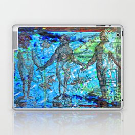 Life And (Slow) Death In Beach City (Or Keepin' My Mouth Shut) Laptop & iPad Skin