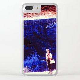 Cave Frame Clear iPhone Case