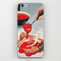 eugenia loli iPhone & iPod Skins featuring 350 Fahrenheit by Eugenia Loli