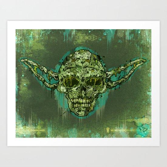 Dagoba Gremlin Art Print