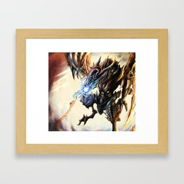 Bahamut Framed Art Print