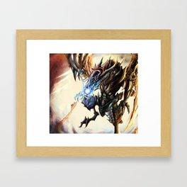 Bahamut Framed Art Print