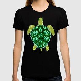 Sea Turtle – Green Palette T-shirt