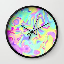 Constructive character Trippy Wall Clock