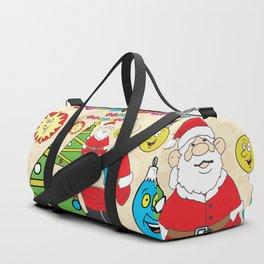 Santa & the Tree Duffle Bag