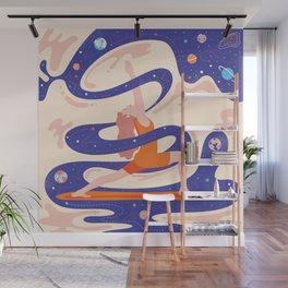 Сosmic yoga Wall Mural