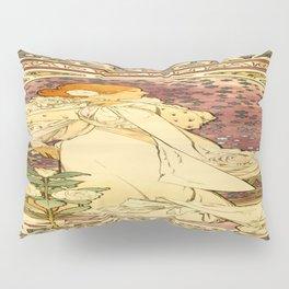 Vintage poster - La Dame Aux Camelias Pillow Sham