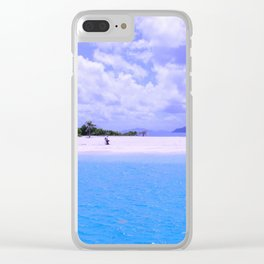 Perfect Island Clear iPhone Case