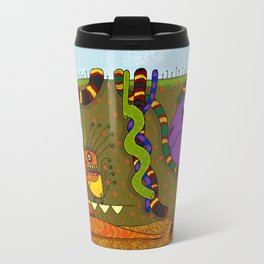 Iguanas and Snakes Travel Mug