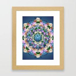 CALAIS MANDALA Framed Art Print